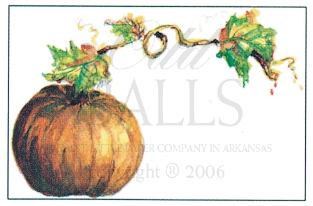 Pumpkin Fall Party Invitation