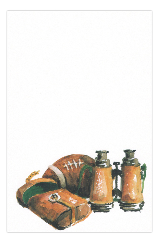 Pig Skin Football Party Invitation