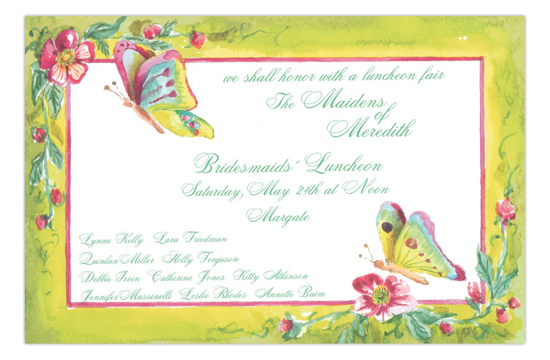 Gossamer Party Invitation