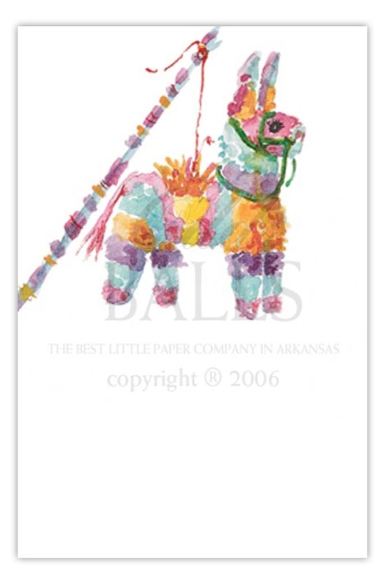 Pinata Fiesta Party Invitation