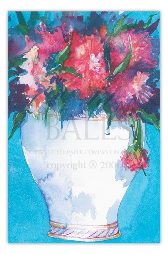 Dazzling Dahlia Fiesta Party Invitation