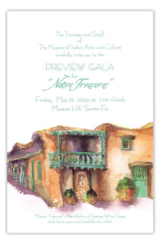 Adobe Fiesta Party Invitation