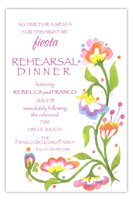 Fiesta Flowers Party