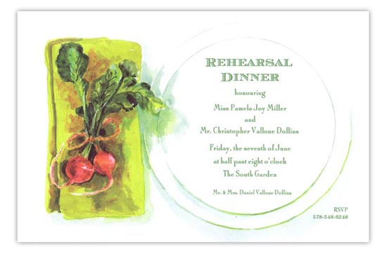 Garden to Table Summer Cookout Invitation