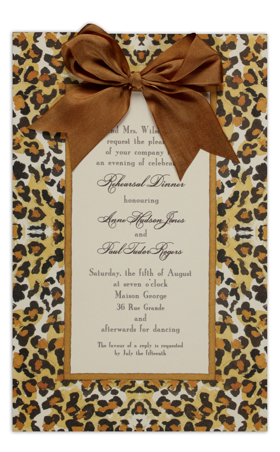 Ocelot Invitation