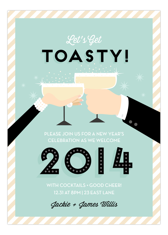 New Years Eve Party Invitations 2014