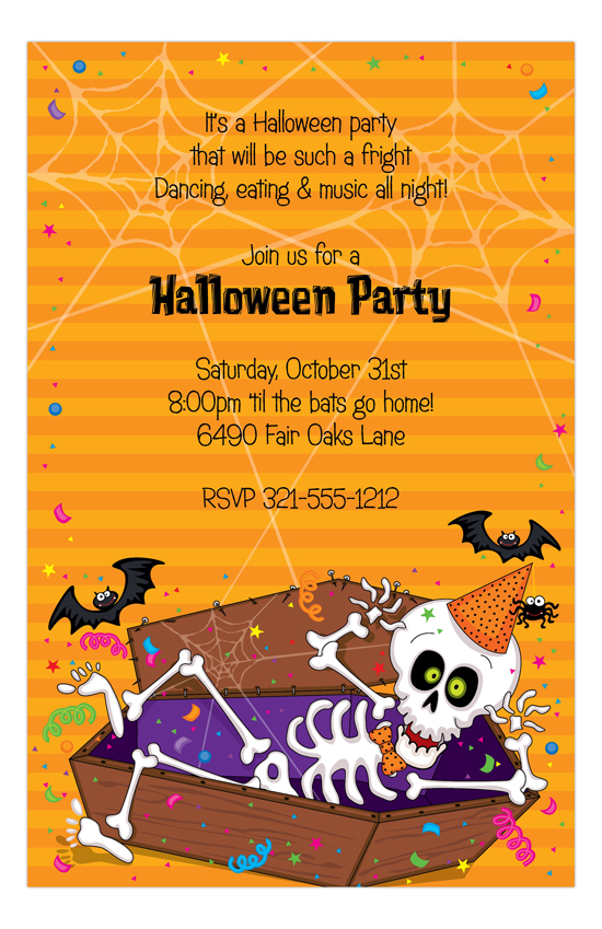 Party Bones Invitation