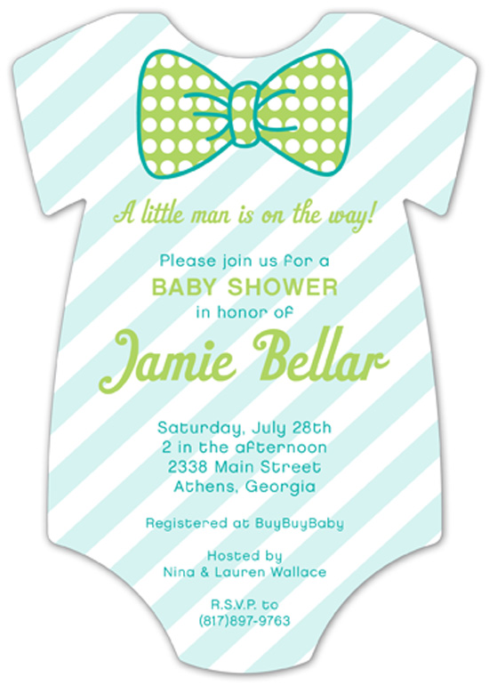 pattern-cutie-onesie-invitation-pddd-nponbs1314 How to Plan a Baby Shower