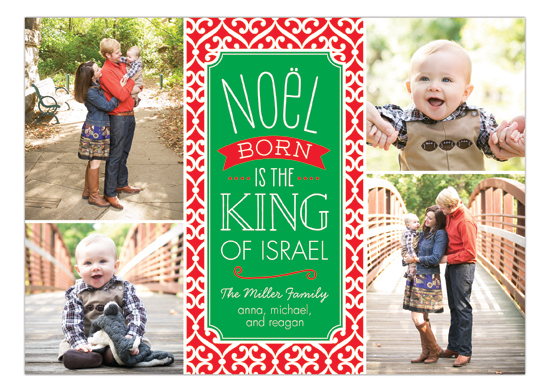 Noel Collage Holiday Photo Card