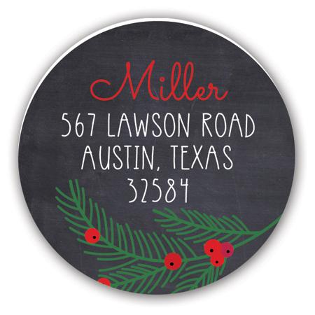 pcdd-strd-hl1500 Christmas Address Labels