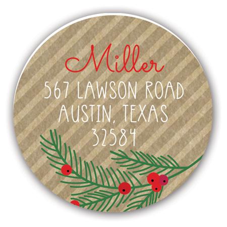 pcdd-strd-hl1533 Christmas Address Labels