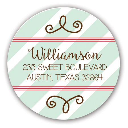 Sweet Christmas Holiday Label
