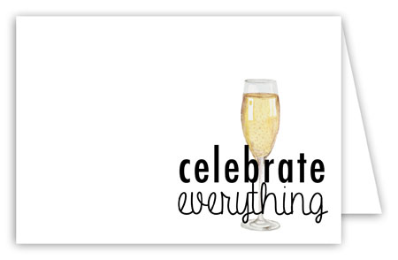 Celebrate Everything Thank You Card
