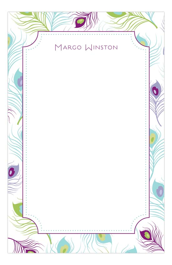 peacock-feather-notepad-pddd-nn58pn9015 Polka Dot Invitations Black Friday Deals