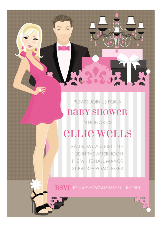 Pink Blonde Classic Crib Couple