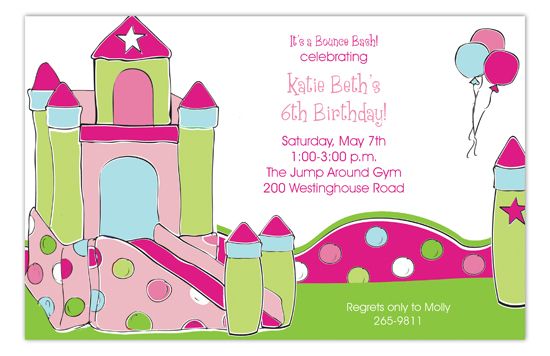 Pink Palace Invitation