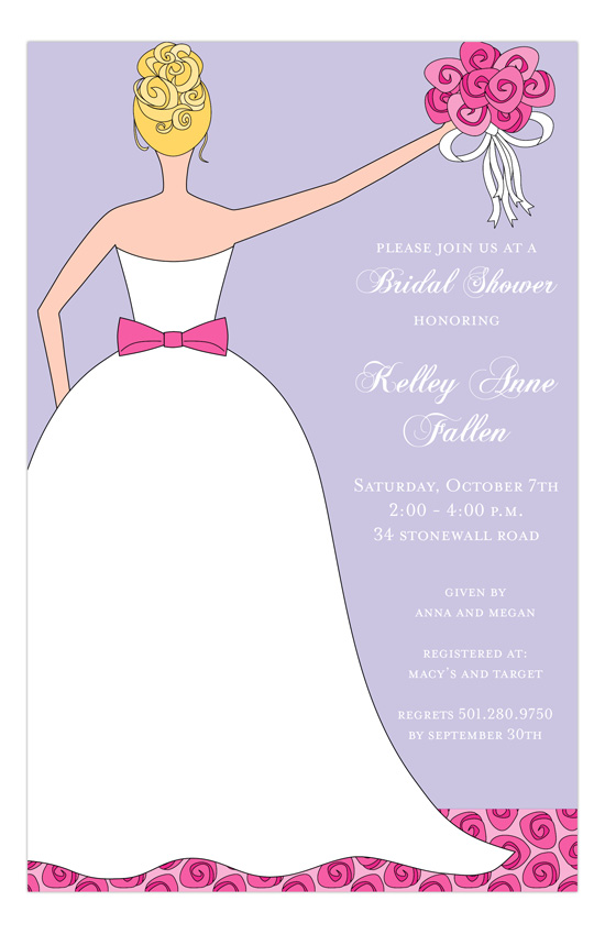 Pink Perfection Invitation