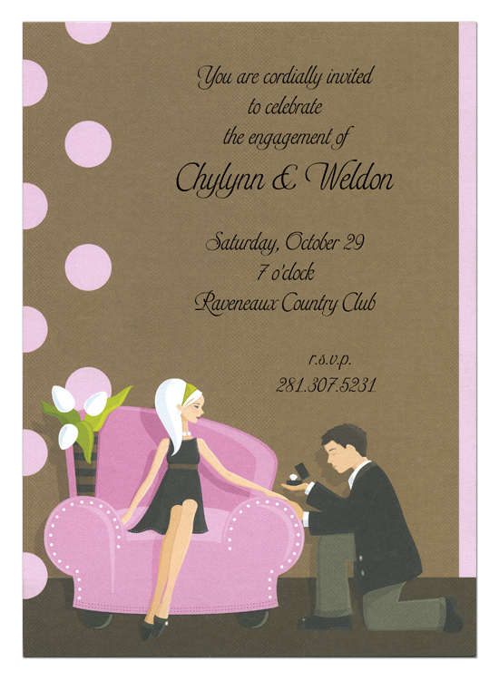 Popping the Question Invitation