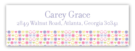 Princess Party Address Label