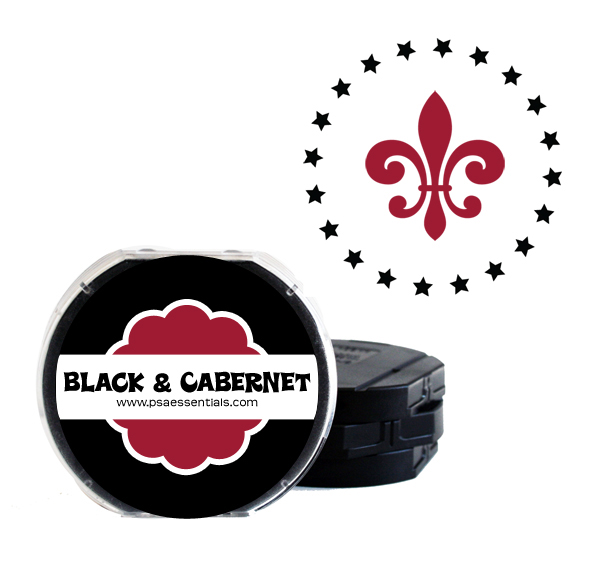 Black and Cabernet Two-Color Ink Cartridge