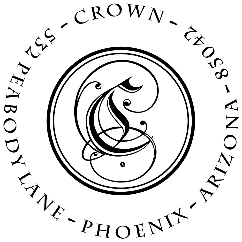 Crown Personalized Stamp