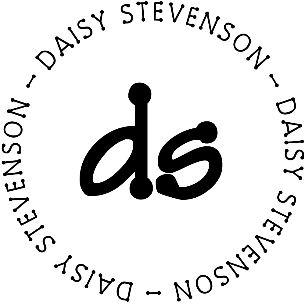 Daisy Personalized Monogram Stamp