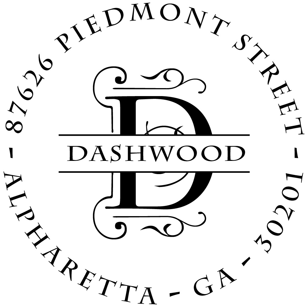 Dashwood Personalized Stamp