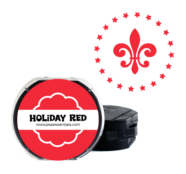 Holiday Red Ink Cartridge