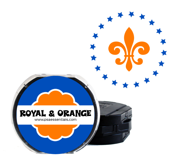Royal and Orange Two-Color Ink Cartridge