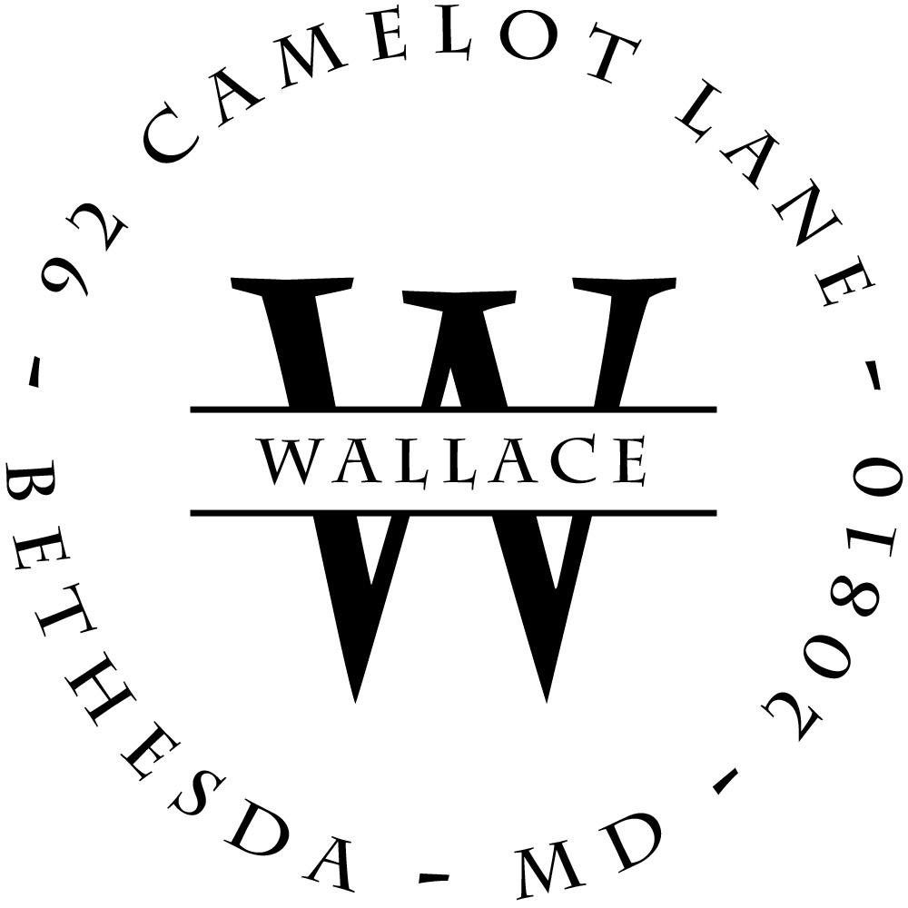 Wallace Personalized Stamp