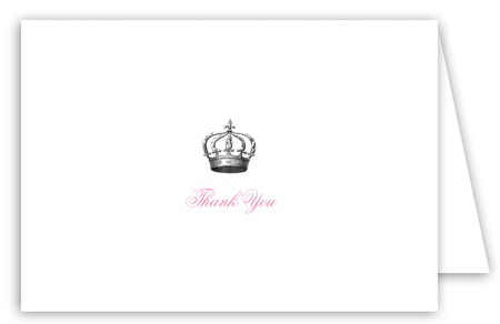 Queen Anne Note Card