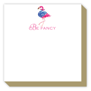 Be Fancy Flamingo Luxe Pad
