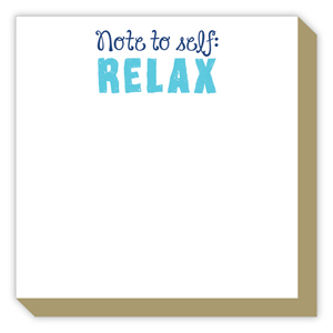 Note to Self Relax Luxe Pad