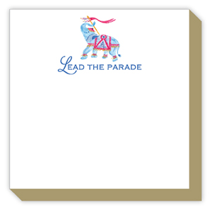 Lead the Parade Elephant Luxe Pad