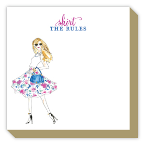 Skirt the Rules Fashionista Luxe Pad