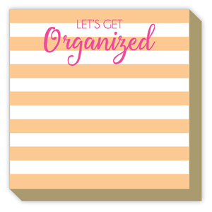 Lets Get Organized Cabana Stripe Luxe Pad