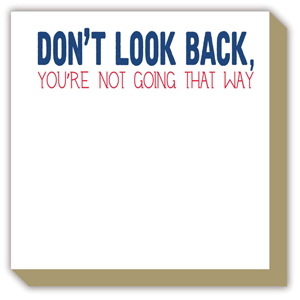 Dont Look Back Luxe Pad