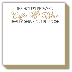 Coffee and Wine Luxe Pad