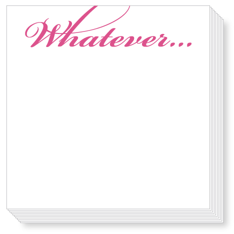 Whatever Luxe Notepad