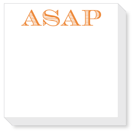 ASAP Luxe Notepad