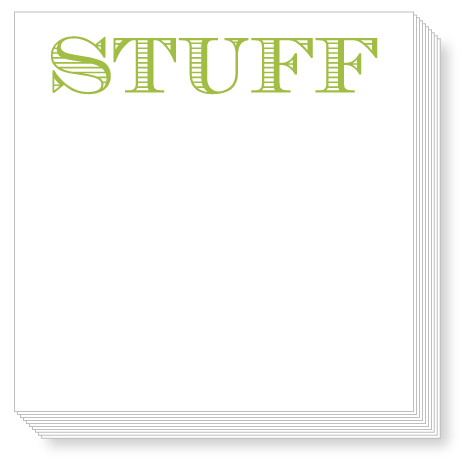 Stuff Luxe Notepad