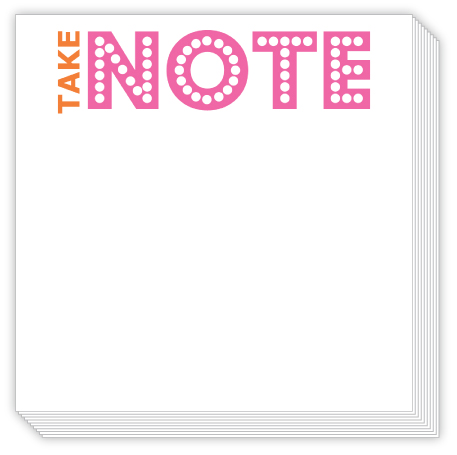 Take Note Luxe Notepad