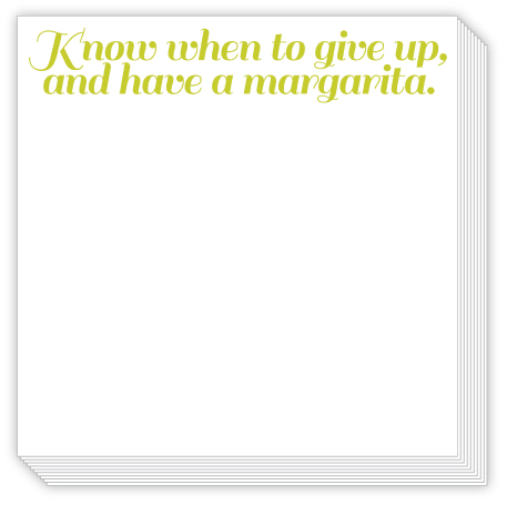 Have a Margarita Luxe Notepad