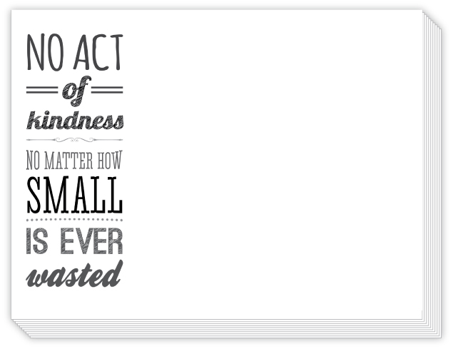 Act of Kindness Slab Pad