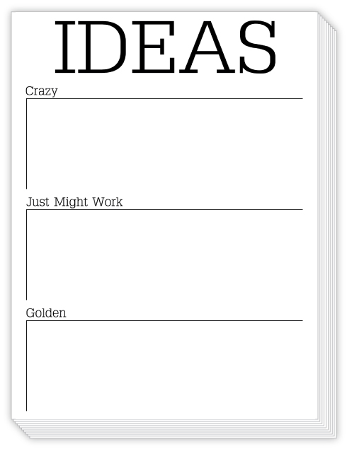 Ideas List Slab Pad