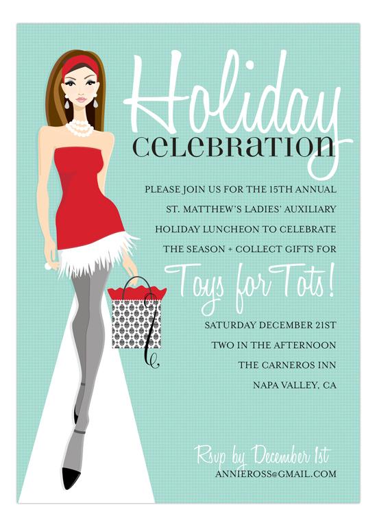 Red dress runway invitation stopboris Gallery
