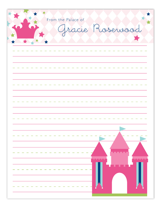 Royal Castle Notepad
