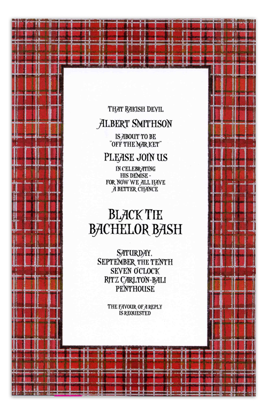 Scottish Invitation