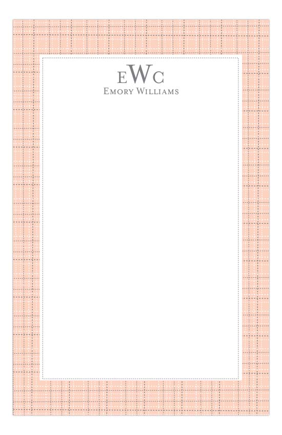 Shell Tweed Notepad