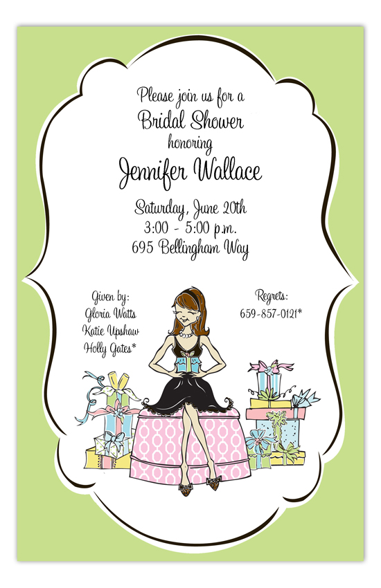 Shower The Bride Invitation